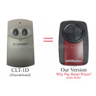 Clicker CLT1D Compatible Universal Gate or Garage Door Opener Remote Control