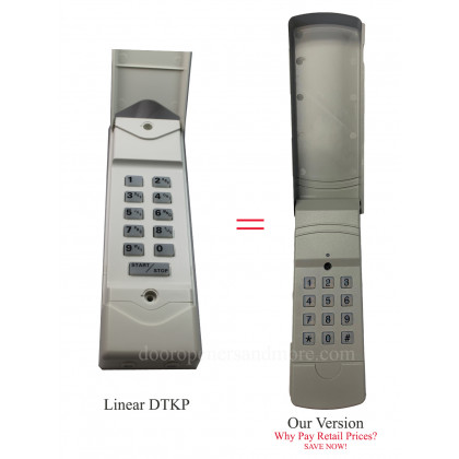 Linear DTKP DNT00062 Compatible 310 MHz Wireless Keyless Entry Keypad