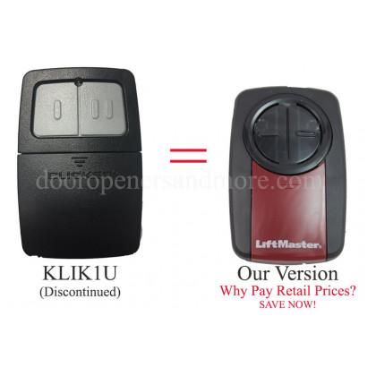 Chamberlain KLIK1U Universal Gate or Garage Door Opener Remote Control