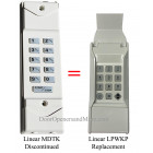 Moore O Matic Wireless Keypad 318 MHz for openers with learn button