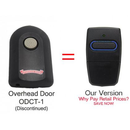 Overhead Door OCDT-1 ACSCTO Type 1 Single Button Visor Remote Control