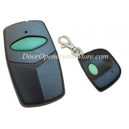 Stanley 1050 1082 Visor and Mini Key Chain Compatible Remote Control Combo