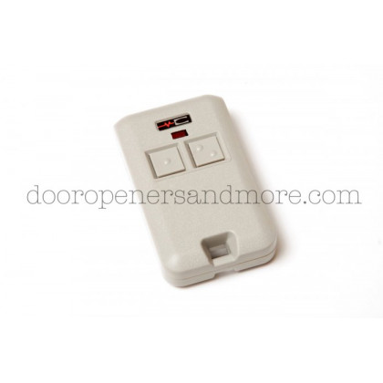 Linear MCS308301 300 MHz Dual Channel Mini Key Ring Remote Transmitter