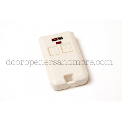 Linear MCS308302 310MHz 2-Channel Key ChainGarage Door or Gate Remote Control Transmitter