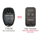 LiftMaster 370LM Compatible 315 MHz Security+ 3 button Garage Door Opener Key Chain Remote
