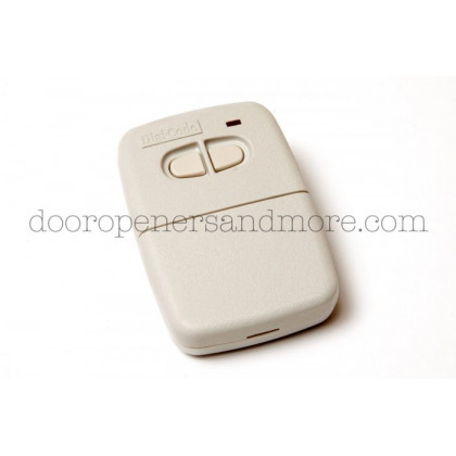 Digi Code 5060 300 MHz 2 Button Garage Door Opener Remote Multi Code 4120 3083 Compatible