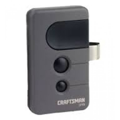 garage door opener remote. Sears Craftsman 139.53753 Compatible Single Button 315 MHz Garage Door Opener Remote Control