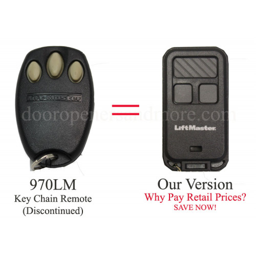 Liftmaster 970lm Compatible 890max 390 Mhz Security 3