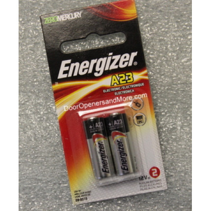 Energizer 12 Volt A23 Battery 2 Pack