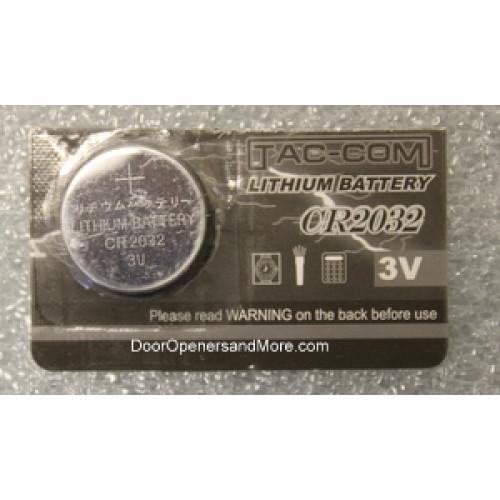 Cr2032 3 Volt Lithium Battery