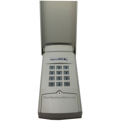 Digi Code 5202 310Mhz Garage Door Opener Wireless Keypad Stanley 2986 Compatible