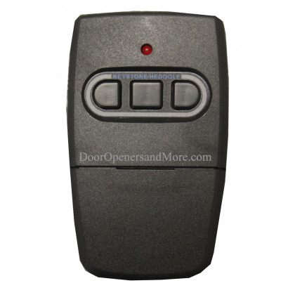 Heddolf CRC390-3A Three Button Visor Garage Door Remote 315 or 390 MHz