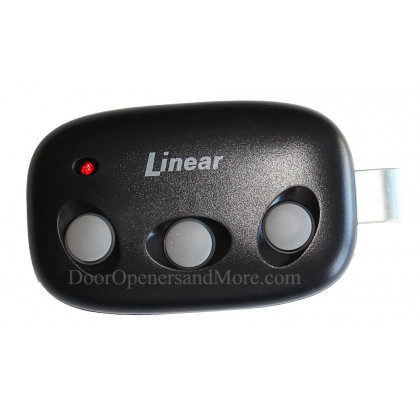 Linear DNT00089 Mega Code MCT-3 Three Button Visor Garage Door Remote - LD033 LD050 LS050 Compatible