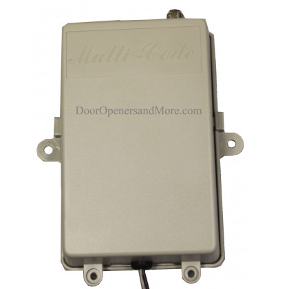 Multi Code 1099-50 Single Channel 12 or 24V Gate Receiver 300 MHz or 310 MHz