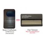 Sears Craftsman 139.18790 18790B 390 MHz Compatible Visor Remote Control