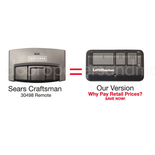 sears craftsman assurelink compatible garage door opener remote