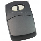 Linear MCS109410 310MHz 2-Channel Visor Garage Door or Gate Remote Control Transmitter
