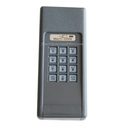 Multi Code 4200 4200-10 300 MHz Wireless Garage Door  Gate Opener Keypad