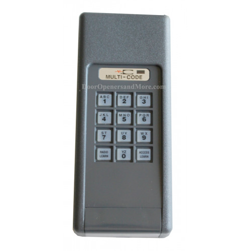 Multi Code 4200 4200 10 300 Mhz Wireless Garage Door Gate