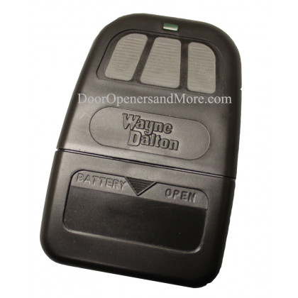 Wayne Dalton 309884 3910 303 MHz 3 Button Visor Remote Control