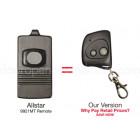 Allstar 9921 9921MT Compatible 318 MHz Single Button Mini Key Chain Remote Allister Pulsar