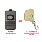 Allstar 9931 9931MT Compatible 318 MHz Mini Key Chain Remote Control Allister Pulsar