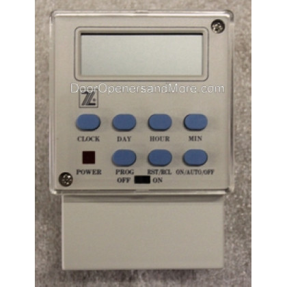 EMX DTM9 Programmable Open Close Electronic Timer 110V Power 7 Day