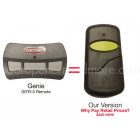 Genie GITR-3 Compatible Single Button Garage Door Opener Remote 37517S