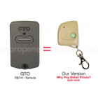 GTO Mighty Mule RB741 FM135 Compatible 318 MHz Mini Key Chain Remote Control