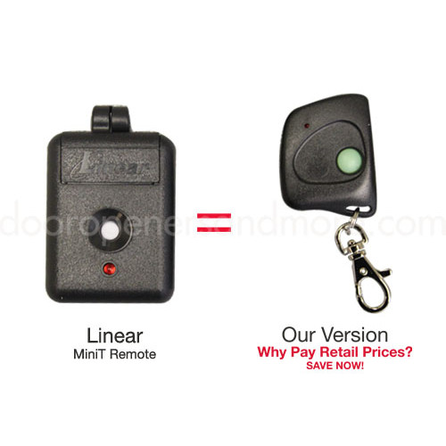 Linear Mini T Dnt00026 Compatible 310 Mhz Mini Key Chain