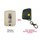 Stanley 1082 108210 Compatible 310 MHz Mini Key Chain Remote Control
