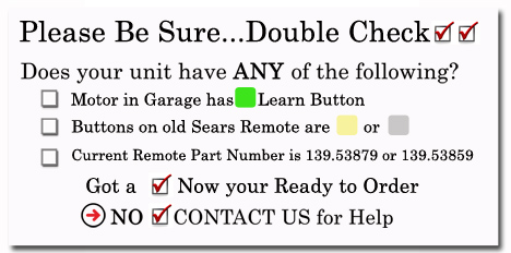 This Sears Craftsman Compatible Remote Made By Transmitter Solutions Will Work With Any Billion Code Series Garage Door Openers That Operate