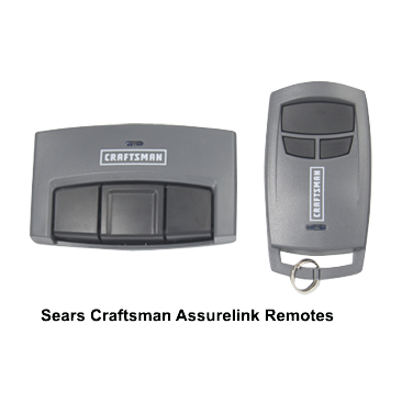 Sears Craftsman Assurelink Remotes